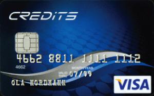 Credits Visa main