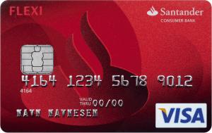 Santander-FlexiVisa-kredittkort