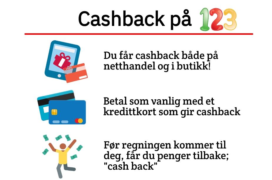 Hva betyr cashback? Hvordan funger cashback?