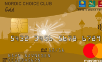 Kredittkortet Nordic Choice Club Mastercard fra SEB Bank