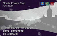 Kredittkortet Nordic Choice Club Mastercard Platinum fra SEB Bank