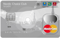 Kredittkortet Nordic Choice Club Mastercard Silver fra SEB Bank