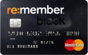 Remember Black MasterCard